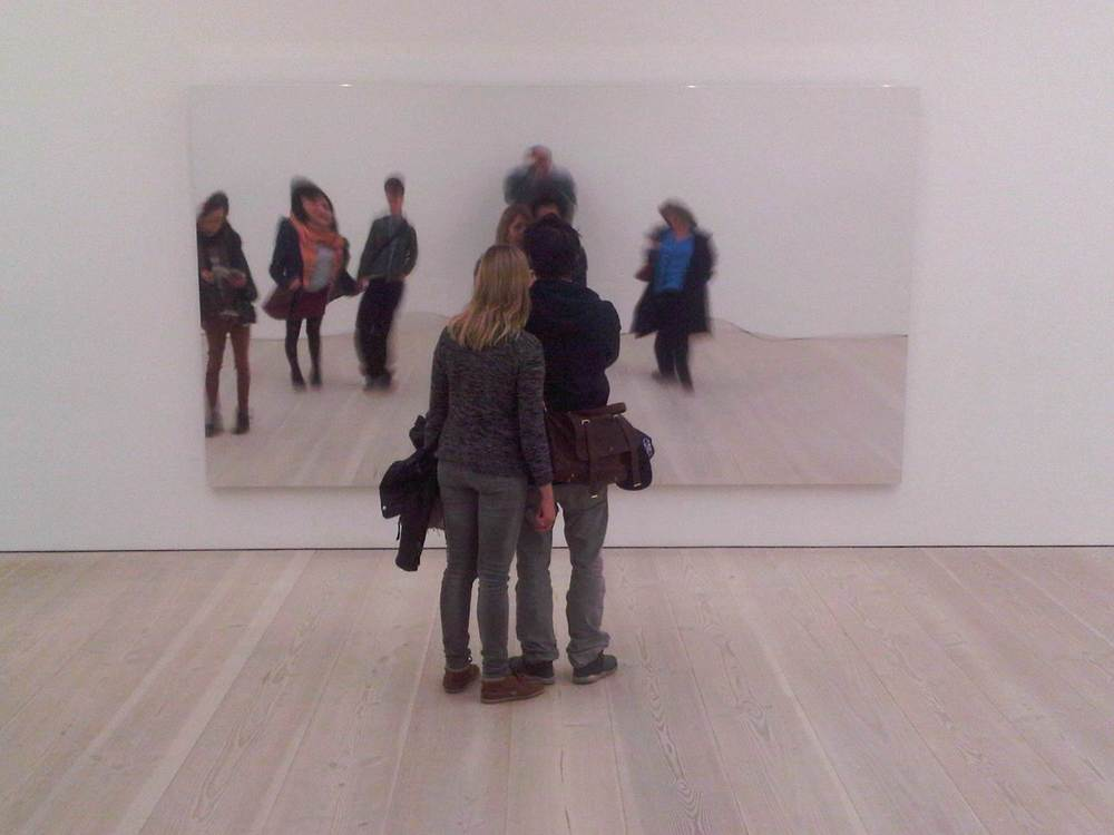 We are all pictures at a #saatchi exhibition.